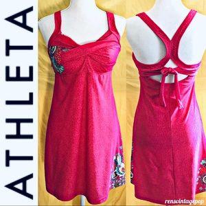 Athleta  yoga & tennis pink dress